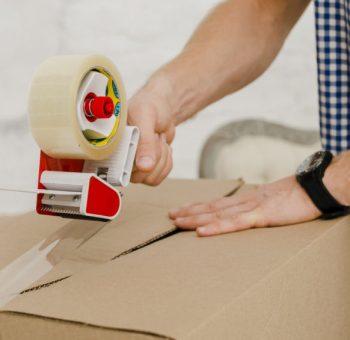 Kartony i inne materiały do przeprowadzki